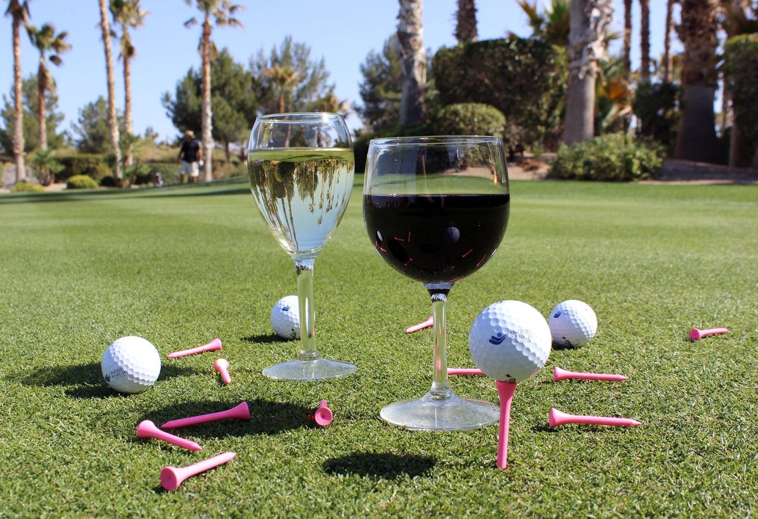 Golf and Wine Tasting
